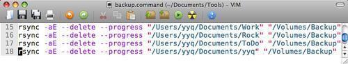 教大家MacOSX系统技巧:用Rsync备份文件