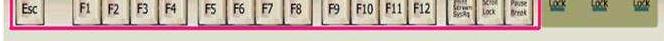 教大家Windows系统中的F1-F12键有什么功能