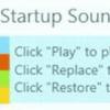 教大家玩转Startup sound changer 随意变换系统自带铃音