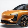爱驰U6ion概念车采用极简设计撞色的搭配让车内更具年轻化