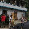 汪家镇第一条由社会出资升级改造的社道完成黑化工程