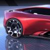 玛莎拉蒂电动汽车仪表渲染将电动超级跑车变成动感的音乐会