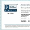一款型号为SM-G998U的三星手机获得了NFC认证