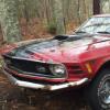 福特野马1号马车停在森林中需要全面修复