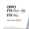 OPPO F19系列手机渲染图在网上曝光